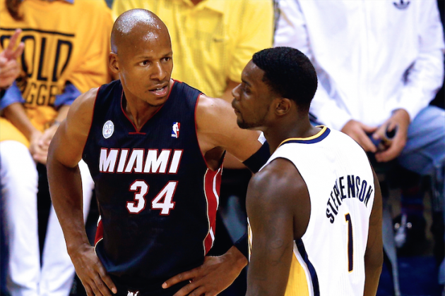 Ray Allen Calls Lance Stephenson's Antics Toward LeBron James 'Buffoonery'