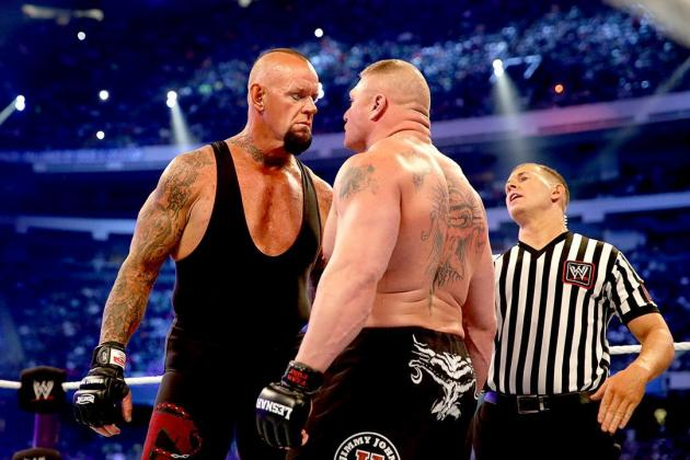 Report: WWE Questioning Decision to Have Brock Lesnar Win at WrestleMania XXX?