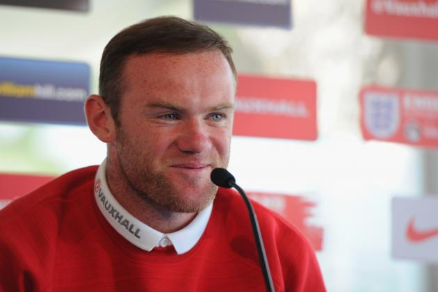 Ed Sheeran, Beyonce and Bruno Mars Feature on Wayne Rooney's World Cup Playlist