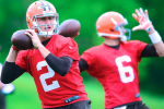 Manziel Capitalizing on 1st-Team Reps, Fitting In
