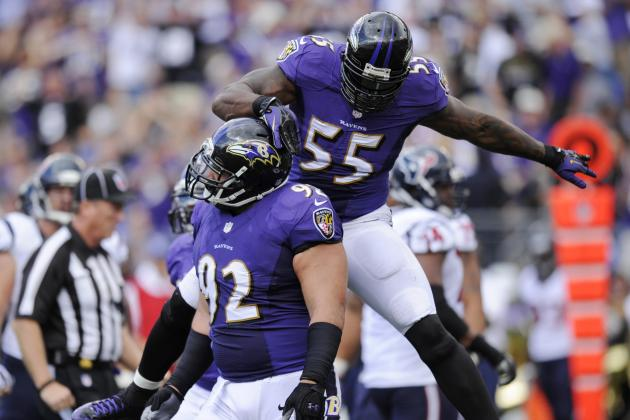 Terrell Suggs, Haloti Ngata, Chris Canty Not at Organized Team Activity
