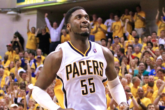 Roy Hibbert Says LeBron James Told Him Miami Heat's Final Play in Game 5