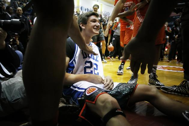 Duke Basketball: What Will Grayson Allen's Role Be as a Freshman?