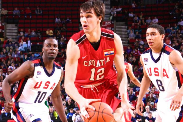 Report: Dario Saric Will Go to NBA If Drafted by Lakers or Celtics