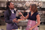 Sherman, Wilson Star in Cooking Promo with 1st Lady