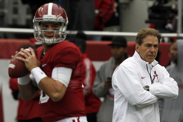 Nick Saban Right to Defend Young Tiders After AJ McCarron's Questionable Comment