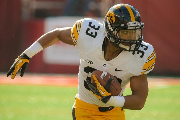 Iowa Seeks Freshness at Running Back