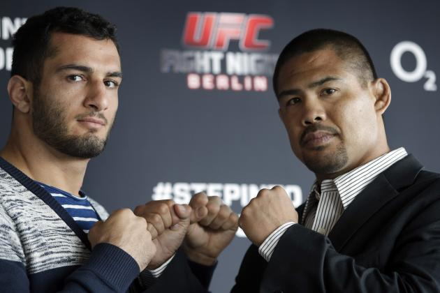 UFC Fight Night 41: Munoz vs. Mousasi Fight Card, Viewing Info and Predictions