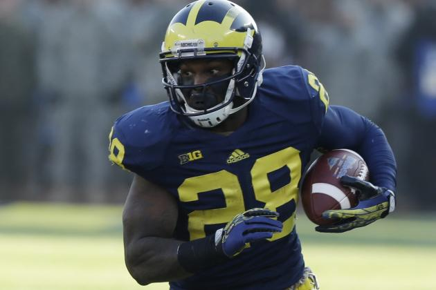 Ravens signing former Michigan running back Fitz Touissant, source says