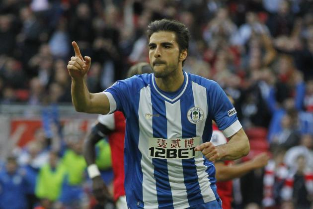 Jordi Gomez Officially Agrees Sunderland Transfer from Wigan Athletic