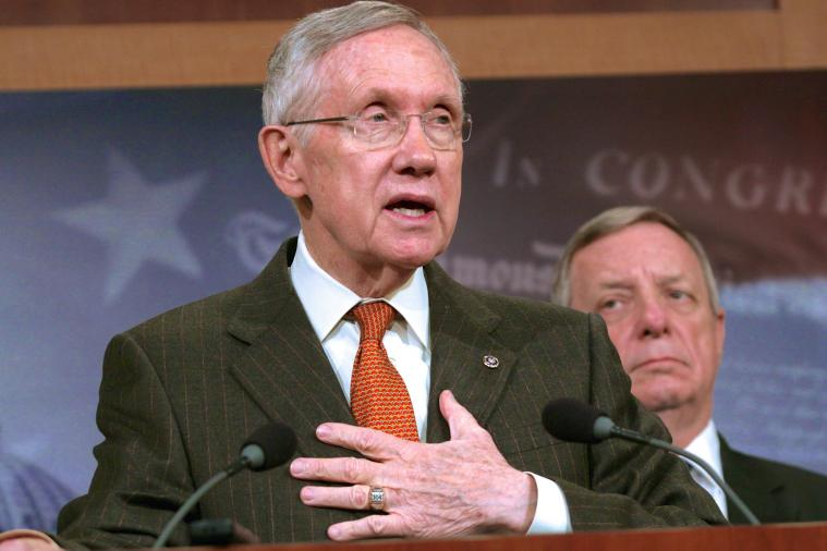 Washington's '#RedskinsPride' Movement to Sen. Harry Reid Doesn't Go as Planned