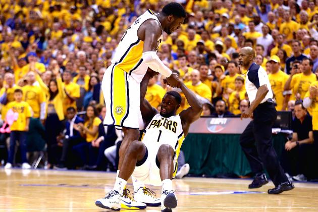 Roy Hibbert, Lance Stephenson Fined for Flopping