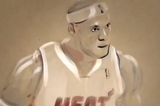 Artist Turns NBA Playoff Highlights into Animated Masterpieces