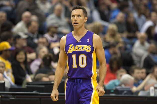 Steve Nash: I'm 'Fine Having Nothing to Do With' LA Lakers Coaching Search
