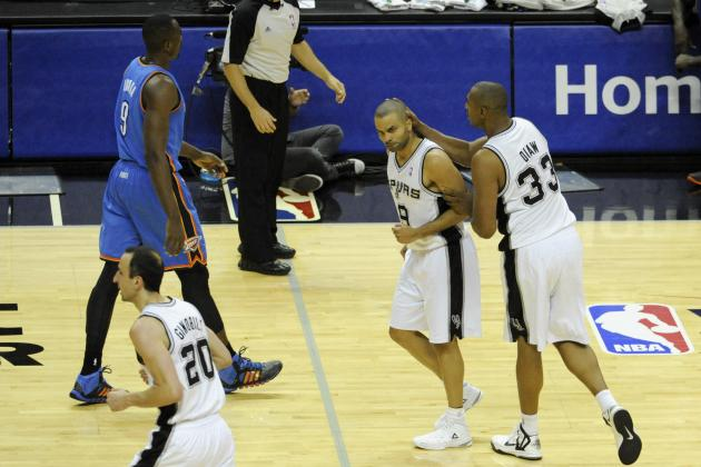 Oklahoma City Thunder vs. San Antonio Spurs: Game 5 Grades and Analysis
