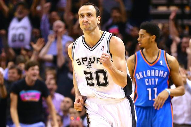 Thunder vs. Spurs Game 5: Live Score, Highlights and Reactions