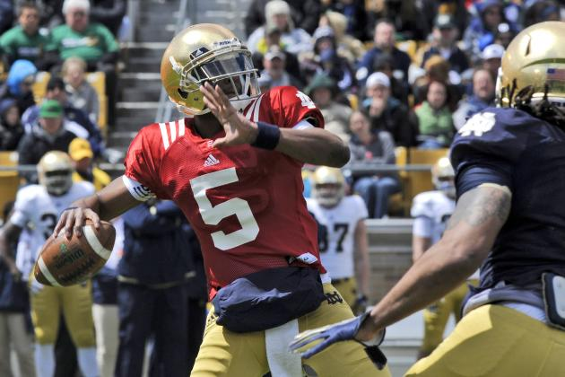Why Notre Dame's QB Competition Won't End When the 2014 Season Starts