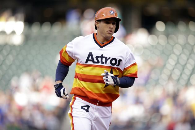 Astros' George Springer 1st Rookie with 7 Home Runs in 7 Games Since 1937