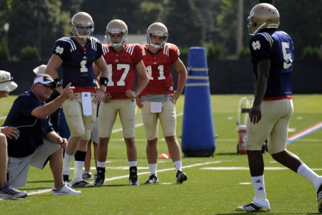 Notre Dame Football: Dissecting Brian Kelly's QB Strategy