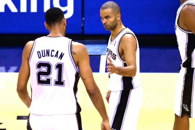 Spurs Use Perfect Blend of New and Old School to Defeat Thunder in Game 5
