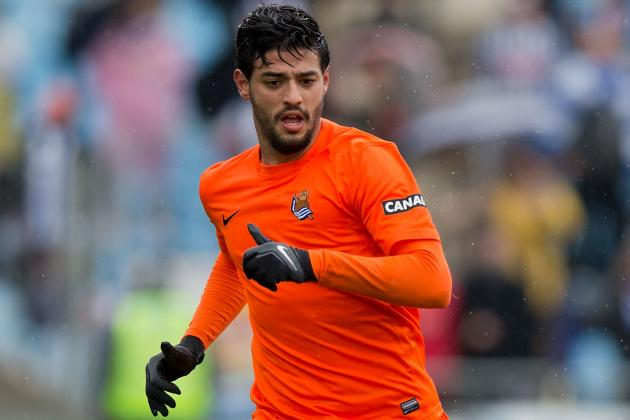Arsenal Transfer News: Carlos Vela Hints He Will Reject Gunners Return