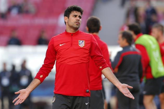 Chelsea Transfer News: Latest on Diego Costa, Lazar Markovic, Eliaquim Mangala