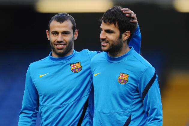 Barcelona Transfer News: Cesc Fabregas and Javier Mascherano Exits Ruled out