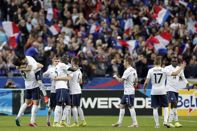France vs. Paraguay: Date, Time, Live Stream, TV Info and Preview