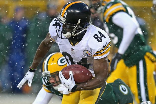 WR Brown Has to Lead for Steelers