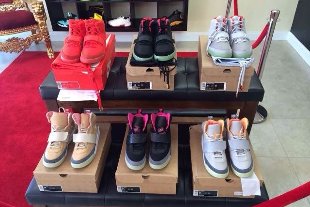 Set of 6 Nike Air Yeezys Put Up for Sale at $100,000