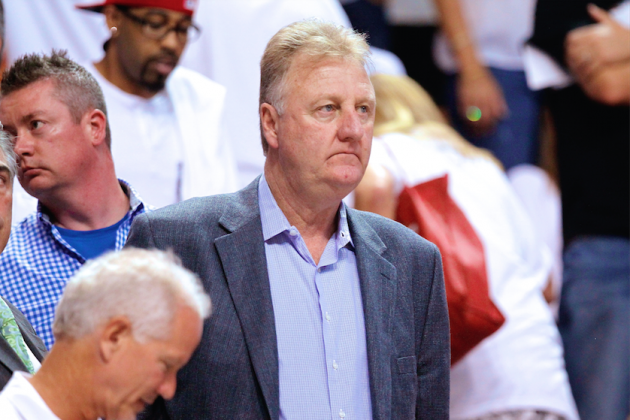 Larry Bird Irked by Lance Stephenson Blowing in LeBron James' Ear in Game 5
