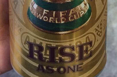 Budweiser Unveil Shiny New World Cup Beer Can