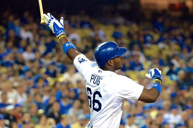 Vin Scully Calls Yasiel Puig the 'Maestro' of Bat Flips