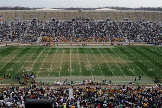 Notre Dame Football: Better Late Than Never for FieldTurf