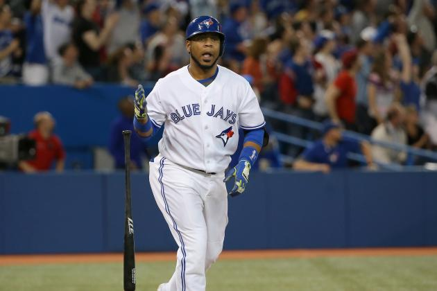 Blue Jays' Edwin Encarnacion Ties Record for Most Multi-Homer Games in 1 Month