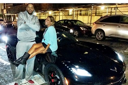 Carmelo Anthony Receives New Corvette Stingray from Wife La La for His Birthday