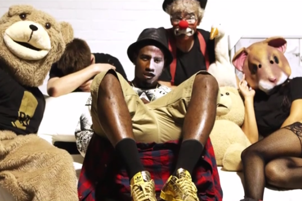 Iman Shumpert Busts Out Weird, but Not Entirely Horrible Rap Video
