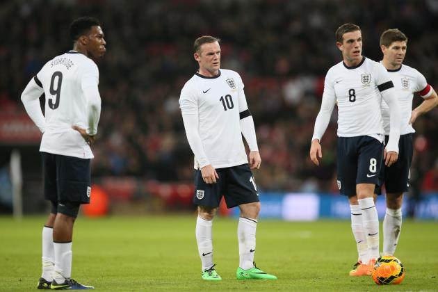 England vs. Peru: Live Player Ratings for the Three Lions