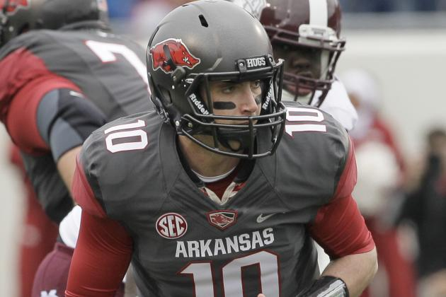 2014 College Football Rankings: #63 Arkansas Razorbacks