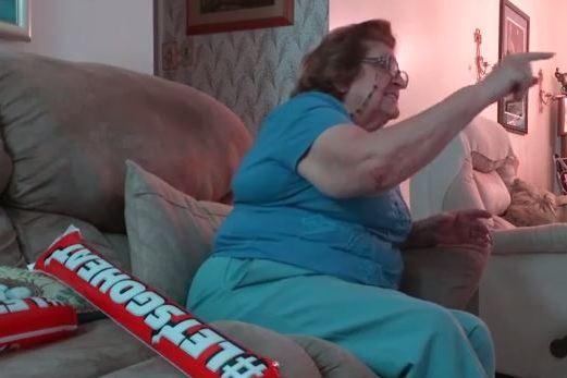 Heat Fan Grandma Returns to Watch Miami Lose in Game 5