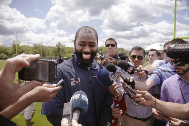 Darrelle Revis Happy to Be a Patriot 'Right Now'