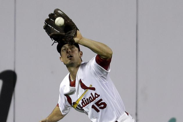 Cards Recall Slugger Grichuk to Bolster Bench