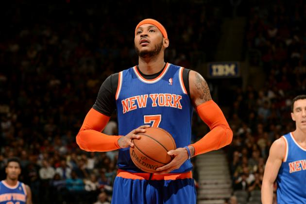 Carmelo Anthony Will 'Think About' Phil Jackson's Advice to Opt In on Contract