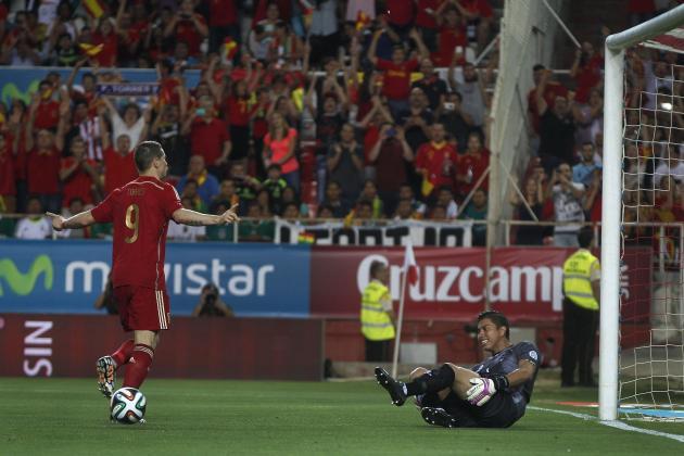 Fernando Torres and Juan Mata Disappoint Despite Spain Win over Bolivia