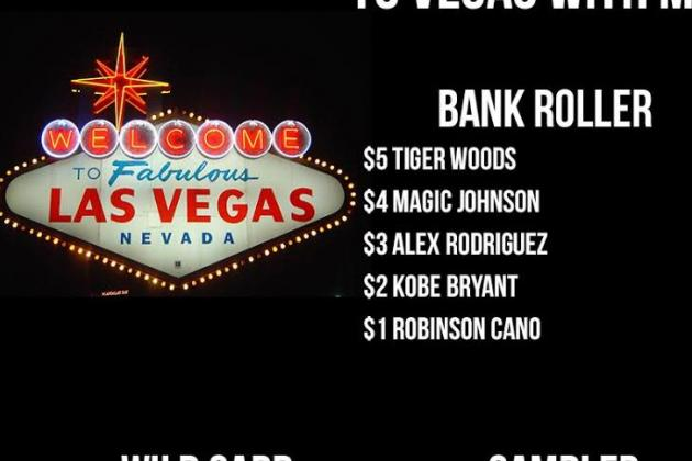 Let's Build a $15 Fantasy Team of Sports Icons for the Ultimate Vegas Trip