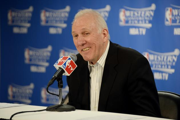 Is Gregg Popovich's Curmudgeon Act with Media Wearing a Little Thin?