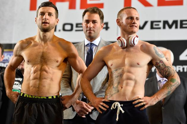 Froch vs. Groves 2: Final Prediction for Fight Following Weigh-In