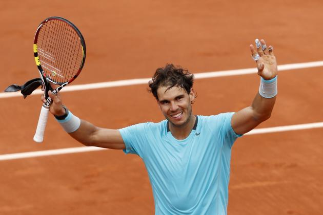 French Open 2014: Full TV and Live Stream Schedule for Day 7 at Roland Garros