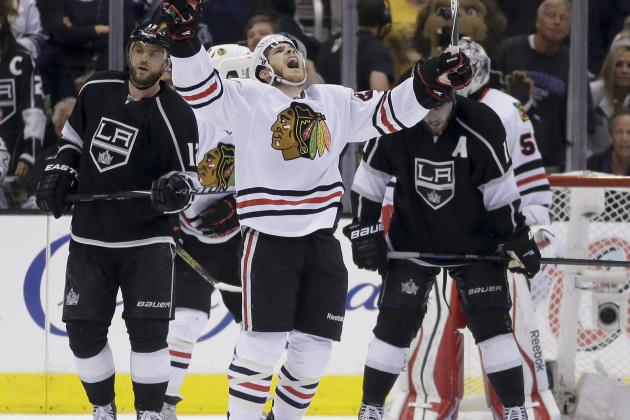 Chicago Blackhawks vs. Los Angeles Kings Game 6: Live Score and Highlights