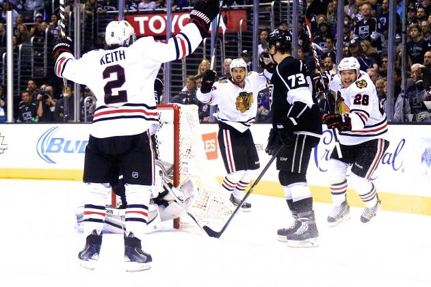 Blackhawks vs. Kings: Game 6 Score and Twitter Reaction from 2014 NHL Playoffs